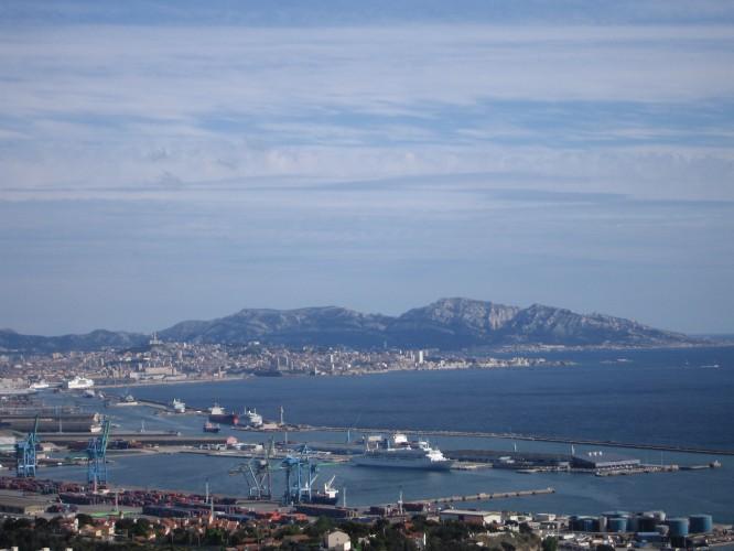 Der Europort in Marseille